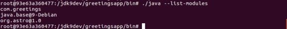 jlink-list-modules