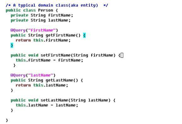 domainclass