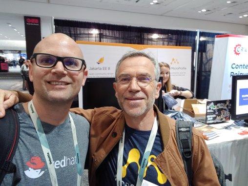 With Phillip Krüger